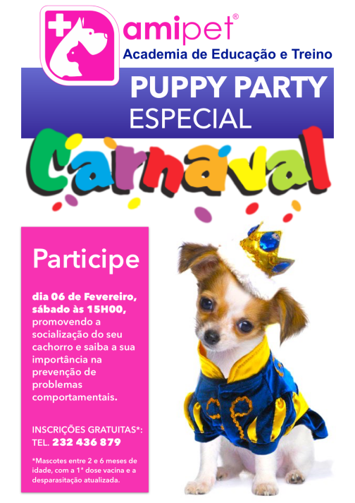 Carnaval-Puppy party