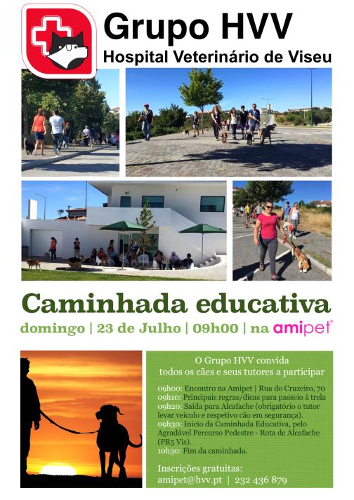 Caminhada educativa 23Jul2107